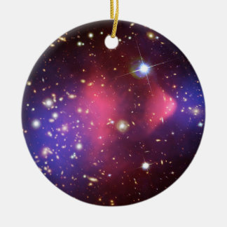 Visible-Light and X-Ray Composite Image of Galaxy Christmas Tree Ornaments