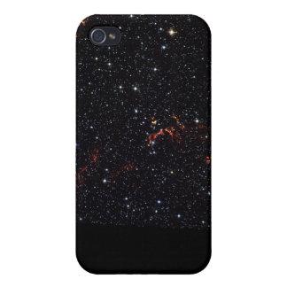 Visible Light Image of Kepler's Supernova Remnant Cases For iPhone 4