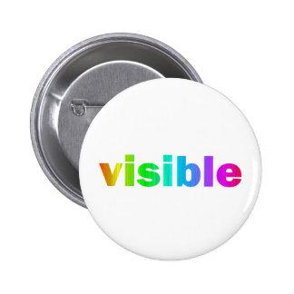 Visible Pin Redondo De 2 Pulgadas