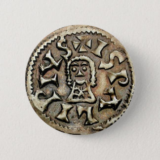 Visigoth Chindaswinth Gold Coin Reverse Button
