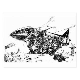 Vision-18 retro, explotación minera del espacio postal