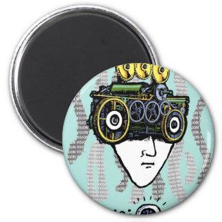 Vision 2 Inch Round Magnet