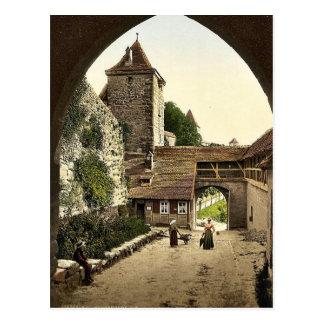 Visión a través de la puerta de Kobolzeller es de Tarjetas Postales