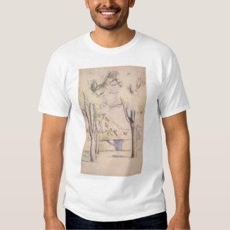 Visión a través de los árboles de Paul Cezanne, Camisas