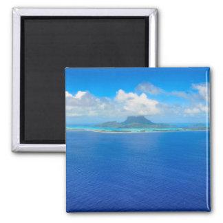 Visión aérea sobre el imán de Bora Bora