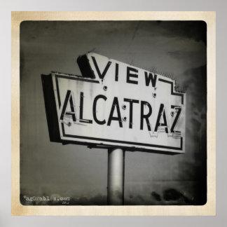 Visión Alcatraz San Francisco Póster