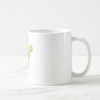 Vision borroso conductor borracho taza de café