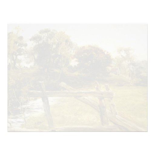 Visión cerca de Hampstead de John Everett Millais Membretes Personalizados
