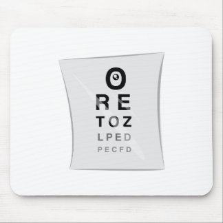 Vision Chart Mouse Pad