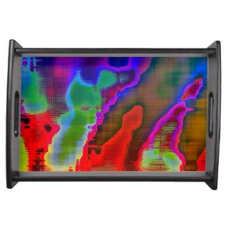 visión colorida bandejas