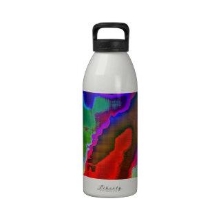 Vision colorido botella de agua