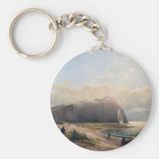 Visión costera - Willem Anthonie van Deventer Llavero Redondo Tipo Pin