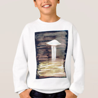 VISION-D8 painting 2 inverted bright Sweatshirt