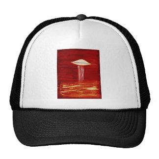 VISION-D8 painting aqua hue inverted Trucker Hat