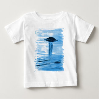 VISION-D8 painting blue hue Baby T-Shirt