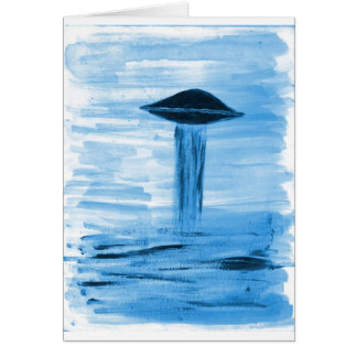 VISION-D8 painting blue hue Card