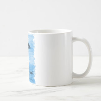 VISION-D8 painting blue hue Coffee Mug