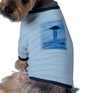 VISION-D8 painting blue hue Doggie Tee