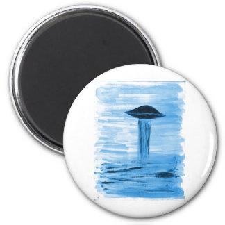 VISION-D8 painting blue hue Magnet