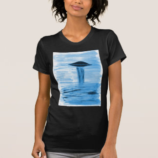 VISION-D8 painting blue hue Shirt