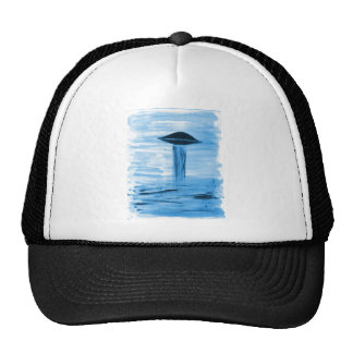 VISION-D8 painting blue hue Trucker Hat