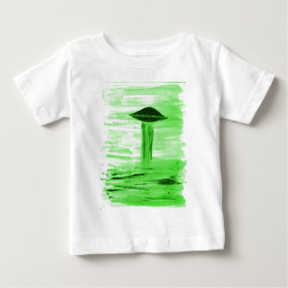 VISION-D8 painting br green hue Baby T-Shirt