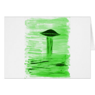 VISION-D8 painting br green hue Card