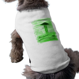 VISION-D8 painting br green hue Doggie Tee