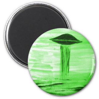 VISION-D8 painting br green hue Magnet
