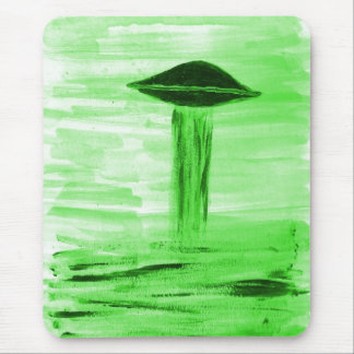 VISION-D8 painting br green hue Mouse Pad
