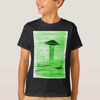 VISION-D8 painting br green hue T-Shirt