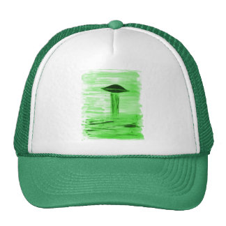 VISION-D8 painting br green hue Trucker Hat