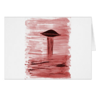 VISION-D8 painting burgandy hue Card