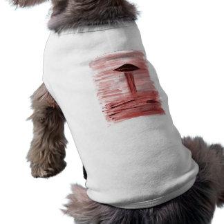 VISION-D8 painting burgandy hue Dog Clothes