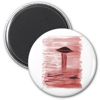 VISION-D8 painting burgandy hue Magnet