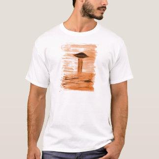 VISION-D8 painting gold hue T-Shirt