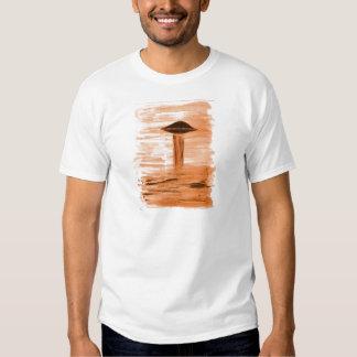 VISION-D8 painting gold hue Tshirt