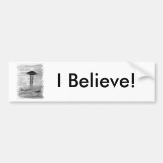 VISION-D8 painting grayscale book ed Bumper Sticker