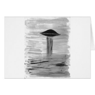 VISION-D8 painting grayscale book ed Greeting Card
