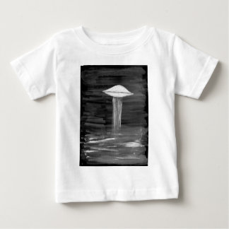 VISION-D8 painting grayscale inverted Baby T-Shirt