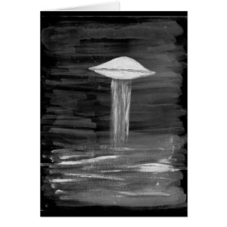 VISION-D8 painting grayscale inverted Card