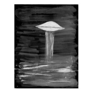 VISION-D8 painting grayscale inverted Postcard