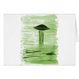 VISION-D8 painting green hue Card