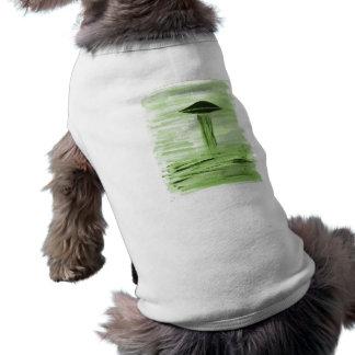 VISION-D8 painting green hue Dog Tshirt