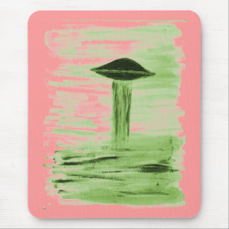 VISION-D8 painting green hue Mouse Pad