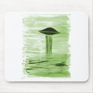VISION-D8 painting green hue Mousepad