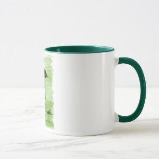VISION-D8 painting green hue Mug