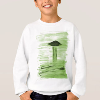 VISION-D8 painting green hue Sweatshirt
