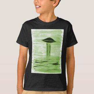 VISION-D8 painting green hue T-Shirt