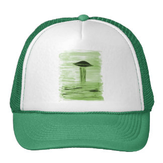 VISION-D8 painting green hue Trucker Hat